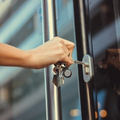 What is a Lock and Unlock Service? What are the benefits of this type of security?