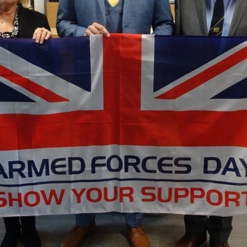 Help Fly The Flag For The Armed Forces Day on June the 29th