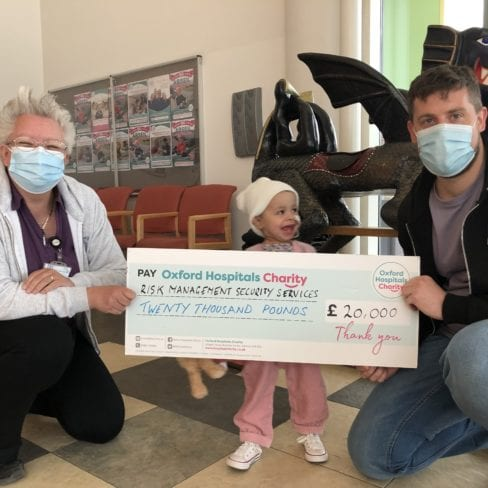 £20,000 Donation to Oxford Hospitals Charity